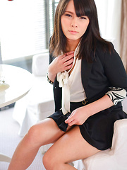 Erena Yuuki's dazzling debut - Asian ladyboys porn at Thai LB Sex
