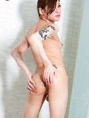 Mako Aiuchi Bikini babe - Asian ladyboys porn at Thai LB Sex
