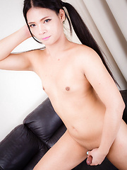 Shy and Young Mon - Asian ladyboys porn at Thai LB Sex