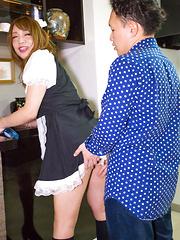 Miki Maid a Hardcore! - Asian ladyboys porn at Thai LB Sex