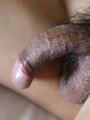Wild Thai Ladyboy with hard penis loves white cock - Asian ladyboys porn at Thai LB Sex