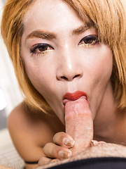 Ass to Mouth Creampie Cumeater - Asian ladyboys porn at Thai LB Sex